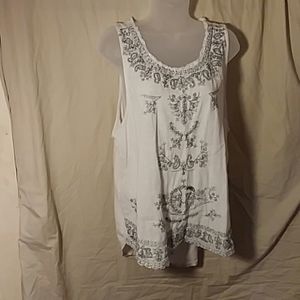 Lucky Brand tank top size XL